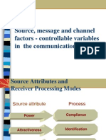 Source Message Factors