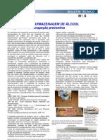 TQ Para gem de Alcool_Boletim Tecnico