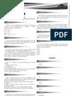 Matematica 1 Exercicios Gabarito 03