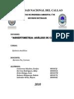 Argentometria Anlisis de Cloruros