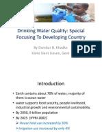Drinking Water Quality DB Khadka