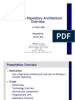 Alfresco Repository Overview by Rivet Logic
