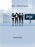 Case Study – Federal Express