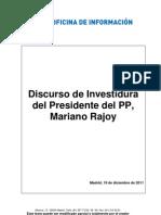 2011-12-19-88111219 Discurso Investidura M Rajoy