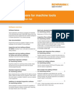 Probe Software for Machine Tools Data Sheet - Program Selection List