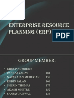 Enterprise Resource Planning-group No .7