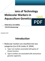 Applications of Technology Molecular Markers in Aquaculture Genetics