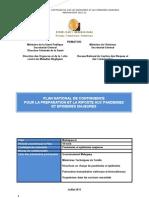 Plan de contingence pour la préparation et la riposte aux pandémies et épidémies majeures - (BNGRC, IASC, PNUD - 2011)