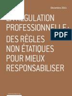 La régulation professionnelle