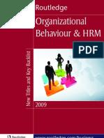 Organization Hrm 2009 Uk