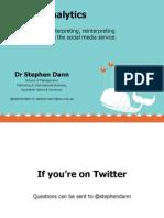 Twitter Analytics