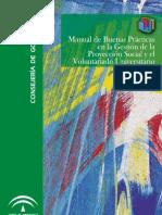 Manual de Buenas Prácticas en la Gestión de la Proyección Social y el Voluntariado Universitario