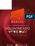 Manual para Formadores de Voluntariado CLM