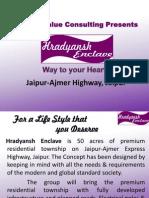 Hradyansh Enclave, 9911658555, jaipur plots, plots on ajmer road