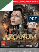 Arcanum Prima Official eGuide