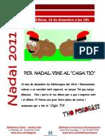 Cartell Caga Tió. Nadal 2011_2012