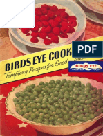 Birds Eye Cookbook - Unknown