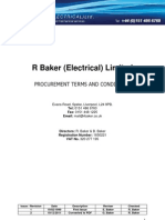 R Baker -Procurment Terms of Business