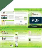 Folder Meio Ambiente Sustentabilidade