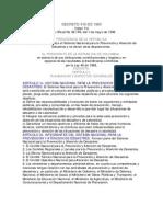decreto 919 1989
