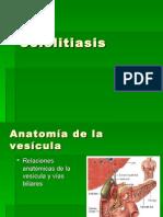 23. Colelitiasis.ca Vesicula. Dr Rios 2008 PPTminimizer