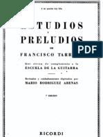 ARENAS - La Escuela de La Guitarra 5_ Estudios y Preludios de Francisco Tarrega