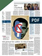 Corriere della Sera - La svolta di Timeline