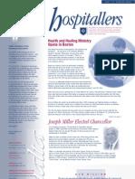 Newsletter Hospitallers 01