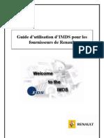 Guide Utilisateur IMDS FR
