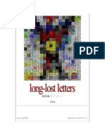 long-lost letters BOOK I (ivica)