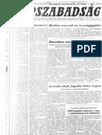1971. december 19. és 21. Nepszabadság Címlap és Mozaik oldal