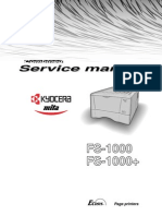 Kyocera FS-1000 Plus Service Manual | Printer (Computing