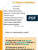 Mathematical Modeling 1