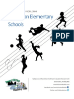 Physical Activity Profile for Saskatoon Elementary Schools