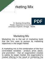 Marketing Mix Service Offer