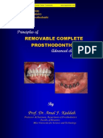 Principles of Removable Denture Pros Tho Don Tics 2007-08 - Kaddah