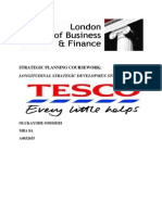 Strategic Planning Assignment - Tesco