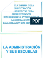 ESCUELA EMPIRIA DE LA ADMINISTRACIÓN HERRAMIUENTAS DE LA ADMINISTRACIÓN