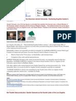 11-12-19 Robert Wexler and the American Jewish University - Koshering Ill-gotten Banker's Moneys...
