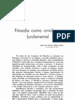 DSantos Filosofia Como Ontologia Fundamental 1955