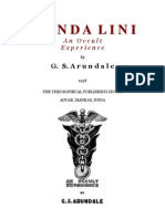 Kundalini an Occult Experience - G S Arundale