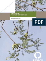 Forest Sector Public Expenditure Reviews
