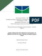 Impacto Economico Banda Larga Mestrado Unb Nov2010
