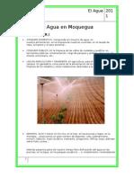 El Agua en Moquegua