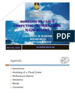 Cloud Computing Modeling