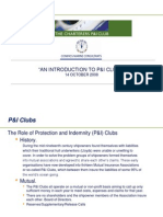 An Introduction to P&I Clubs