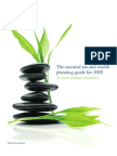 The Essential Tax and Wealth Planning Guide for 2009