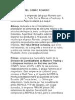 Empresas Del Grupo Romero