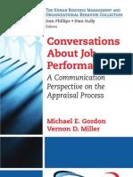 Conversations About Job Performance