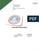 E.F. Razones Financier As